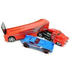 Hot Wheels Rock N Race Rig, Multi Color
