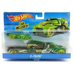 Hot Wheels X-Trayn Rig, Multi Color