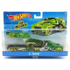Hot Wheels X-Trayn Rig, Multi Color