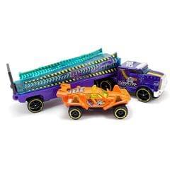 Hot Wheels Rumble Road Rig, Multi Color