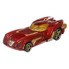 Hot Wheels Marvel Character Cars, Iron Man Car Multi Color