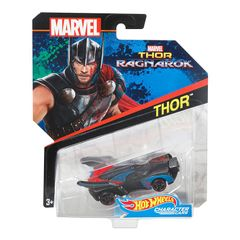 Hot Wheels Marvel Character Cars, Thor Car Multi Color