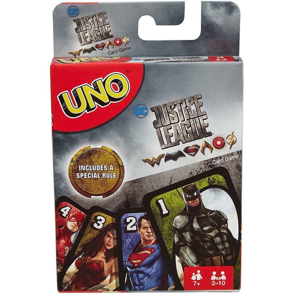 Mattel Uno Justice League Card Game, Multi Color