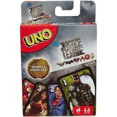 Mattel Uno Justice League Card Game, Multi Color