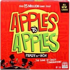 Mattel Apples to Apples Party In A Box Card Game, Multi Color