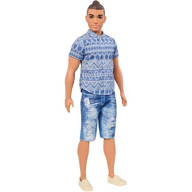 Barbie Fashionistas Ken Doll 13, Multi Color