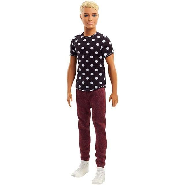 Barbie Fashionistas Ken Doll 14, Multi Color