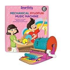 Smartivity Mechanical Xylofun Music Machine, Multi Color