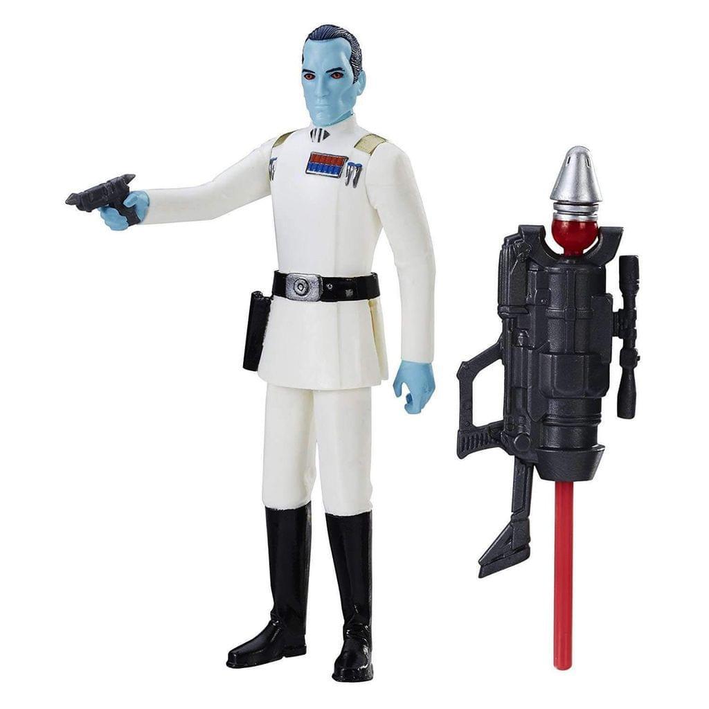 Star Wars Grand Admiral Thrawn Figure, Multi Color