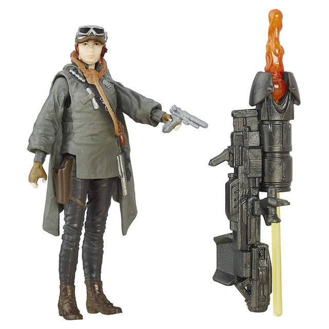 Star Wars Rogue One Sergeant Jyn Erso Figure, Multi Color