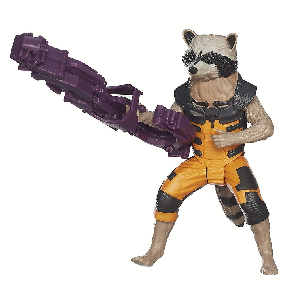 Marvel Guardians of The Galaxy Titan Hero Series Rocket Raccoon 12 inch Figure Multi Color