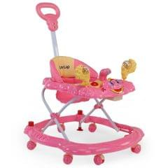 LuvLap Sunshine Baby Walker, Pink Color