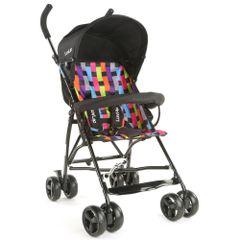 LuvLap Tutti Frutti Baby Stroller, Black Color