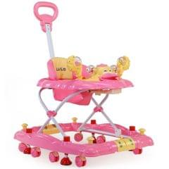LuvLap Comfy Baby Walker, Pink Color