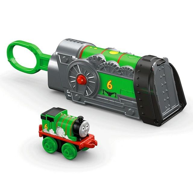 Thomas & Friends Minis Percy Launcher, Green Color