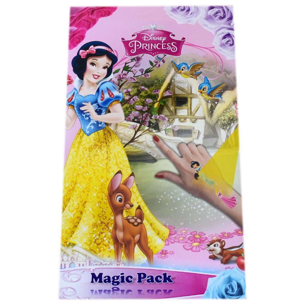 Topps Disney Princess Magic Sticker Pack Collections