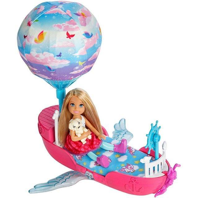 Barbie Dreamtopia Magical Dreamboat, Multi Color