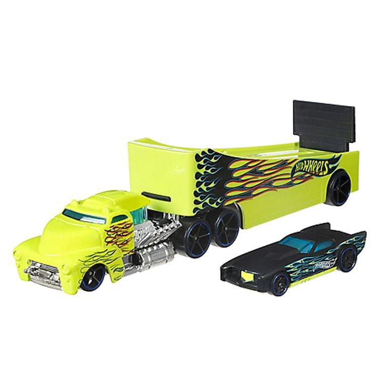 Hot Wheels Super Rig Rock N Race, Multi Color