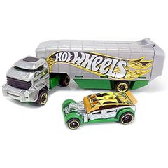 Hot Wheels Super Rig Bank Roller, Multi Color
