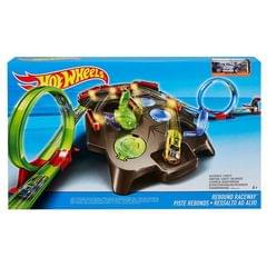 Hot Wheels Rebound Raceway Playset, Multi Color with FREE Justice League 6 Inch Action Figure worth Rs. 399, Limited Stocks, Hurry !!!