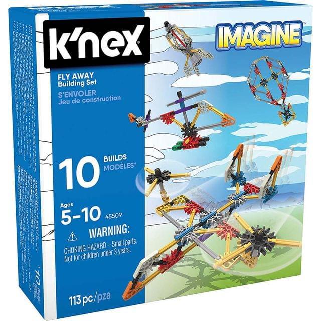 K'Nex Imagine Fly Away Building Set, Multi Color