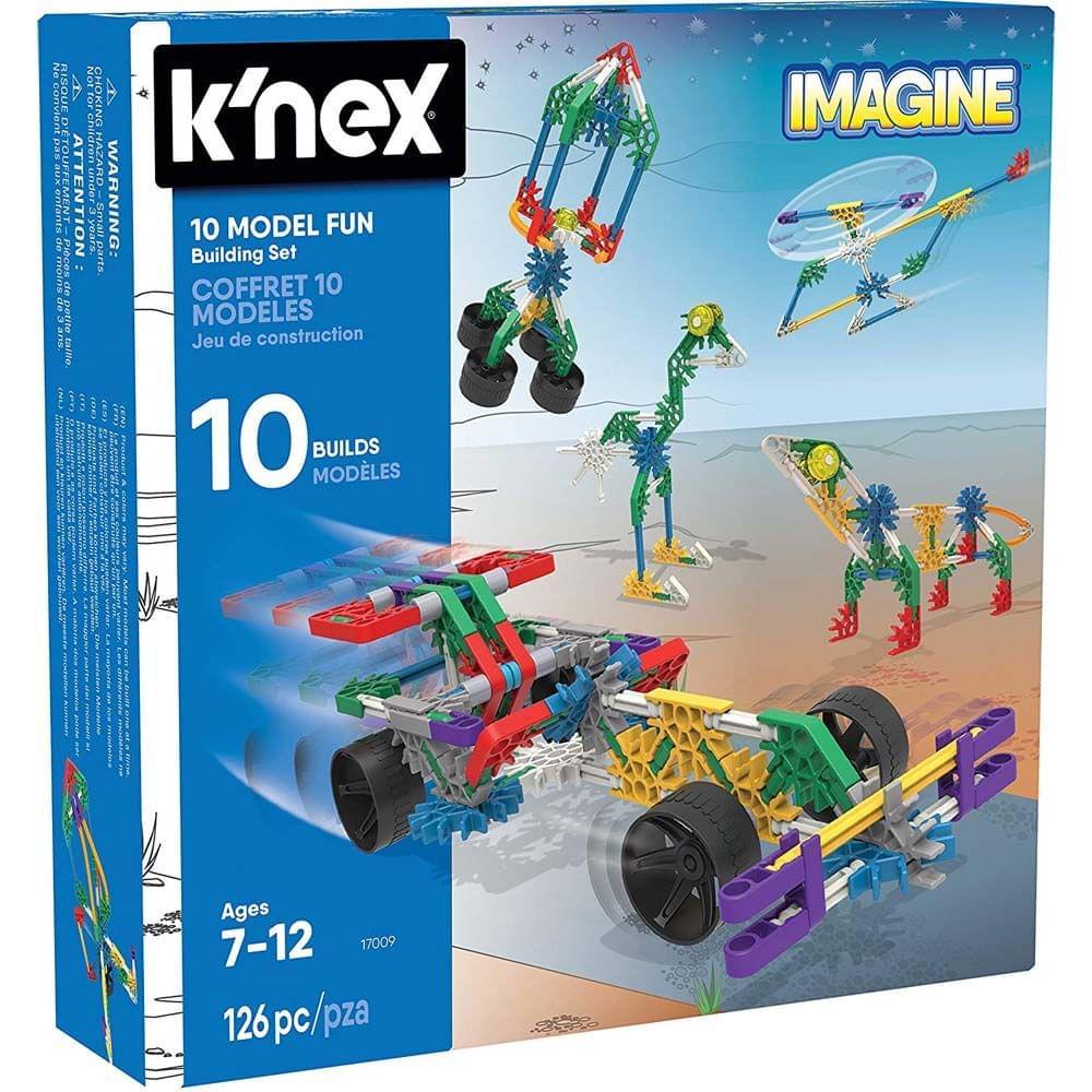 K'Nex Imagine 10 Model Building Fun Set, Multi Color