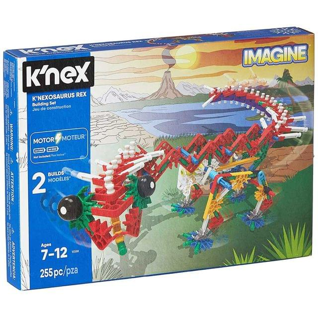 K'nex Imagine K'nex Osaurus Rex Building Set, Multi Color