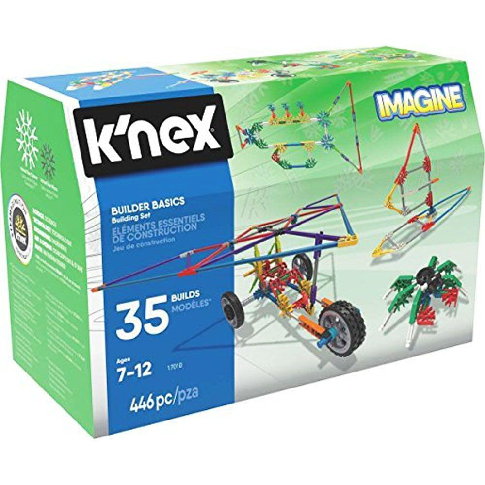 K'Nex Builder Basics 35 Model Building Set, Multi Color