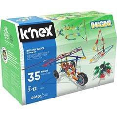 K'Nex Builder Basics 35 Model Building Set, Multi Color