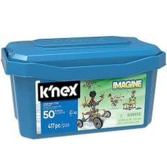 K'Nex Creation Zone 50 Model Building Set, Blue Color