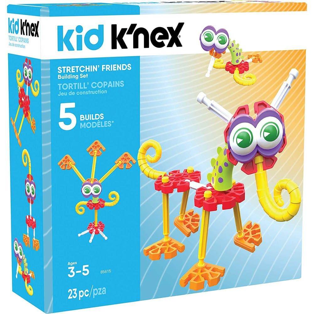 Kid K'nex Stretchin Friends Building Set, Multi Color