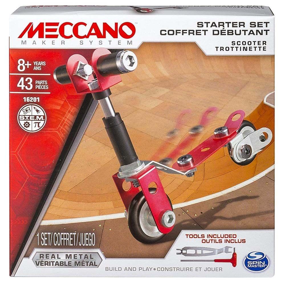 Meccano Starter Set, Multi Color