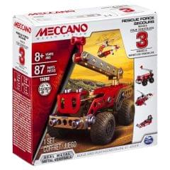 Meccano 3 In 1 Model Rescue Squad, Multi Color