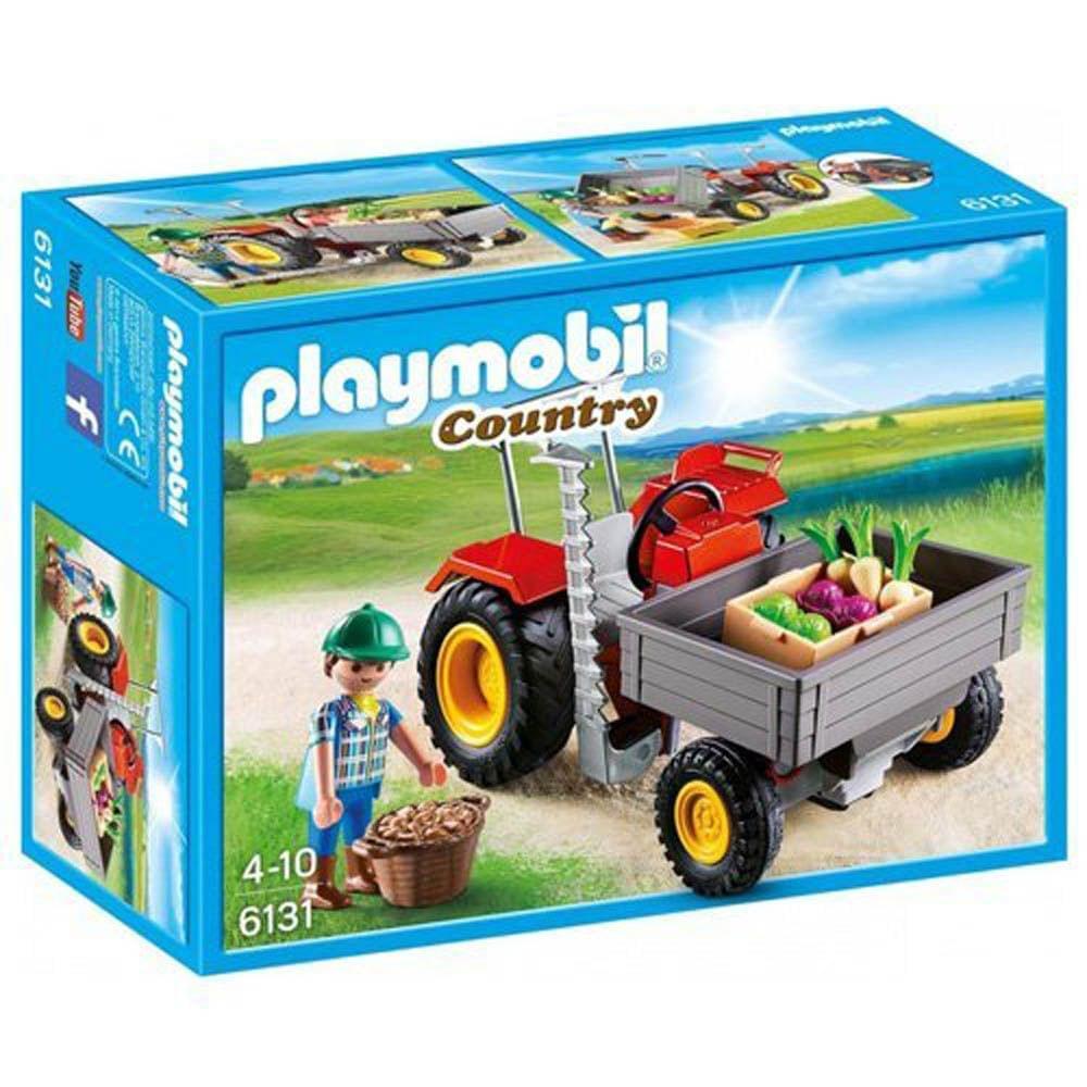 Playmobil Harvesting Tractor, Multi Color