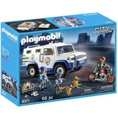 Playmobil Police Money Transporter, Multi Color