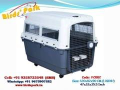 """Flight Dog Crate Imported IATA approved flight dog carrier 47-48"""" Extra Large for INTERNATIONAL AIR CARGO - WE SHIP BY AIR"""