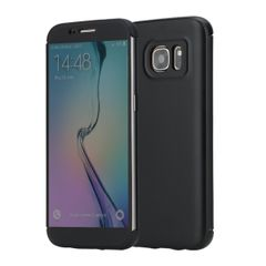 Samsung Galaxy S7, ROCKš [ Dr.V ] Ultra Slim Thin Full Screen Display Window Touchable Smart UI Translucent Touch Hard PC+TPU Flip Protective Case Cover for Samsung Galaxy S7
