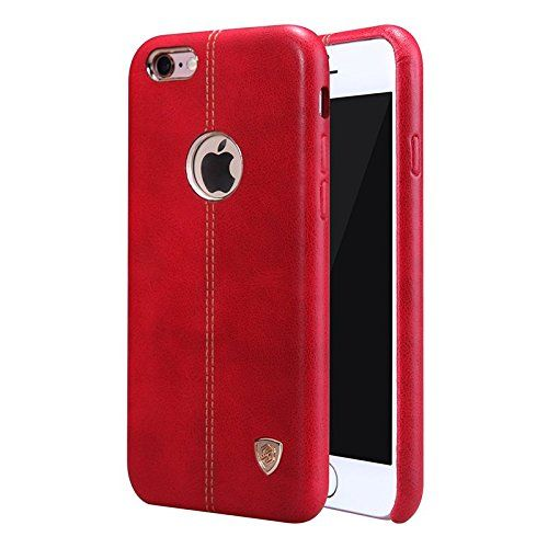 Apple iPhone 6 /iPhone 6S Nillkin Englon Series Leather Back Cover - Red