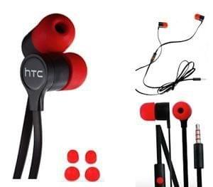 HTC Headset Handsfree Headphones For HTC Desire (Earphone Comes Loose Packing)