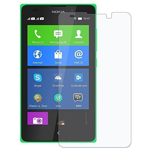 Nokia XL [3D Touch Compatible - Tempered Glass] Screen Protector with [9H Hardness] [Premium Crystal Clarity] [Scratch-Resistant]