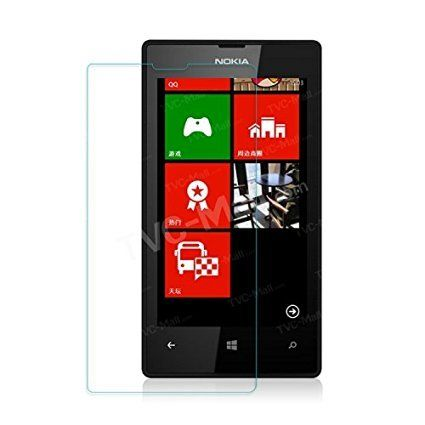 Nokia L520 Toughened Tempered Glass Screen Protector [9H Thickness] [Crystal Clarity] [Anti Shatter, Scratch Resistant]