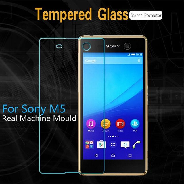 Sony Xperia M5 Tempered Glass 2.5D Curve Screen Guard Sony Xperia M5 | Crystal Clear Anti Bubble Shatter Proof 2.5D Curve Screen Protector