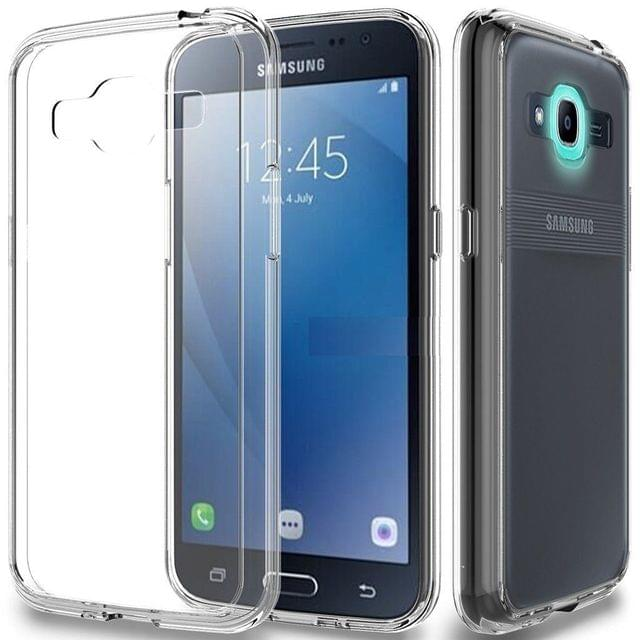 Samsung Galaxy J2 High Quality 0.3mm Ultra Thin Transparent Silicon Back Cover
