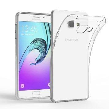 Samsung Galaxy A7 (2016) Perfect Fitting High Quality Ultra Thin Transparent Silicon Back Cover