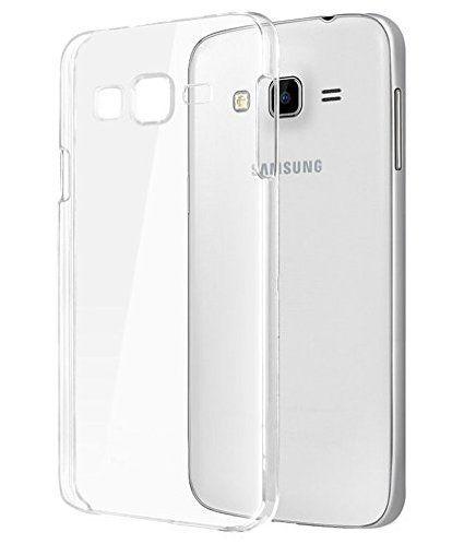 Samsung Galaxy J3 Transparent clear white Silicon Flexible Soft TPU Slim Back Case Cover