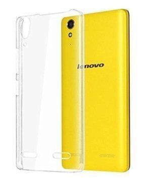 Lenovo A6000 plus Ultra Thin 0.3mm Clear Transparent Flexible Soft TPU Slim Back Case Cover