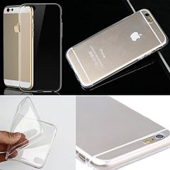 Apple iphone 6 Ultra Thin Silicon Case  (Transparent)