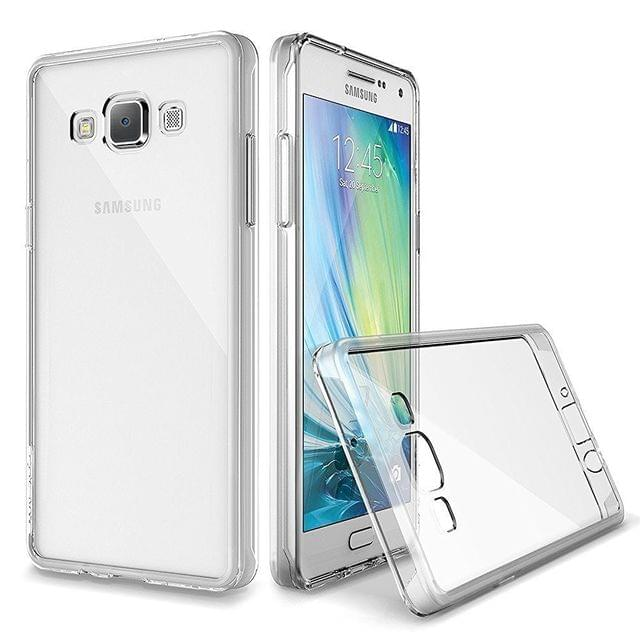 Samsung Galaxy E5Perfect Fitting High Quality 0.3mm Ultra Thin Transparent Silicon Back Cover