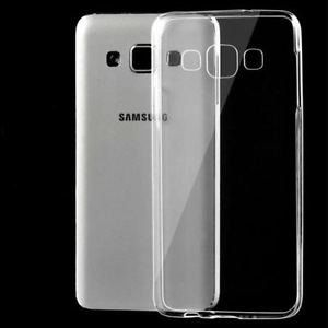 Samsung Galaxy E7 Clear Transparent Flexible Soft TPU Slim Back Silicon Cover
