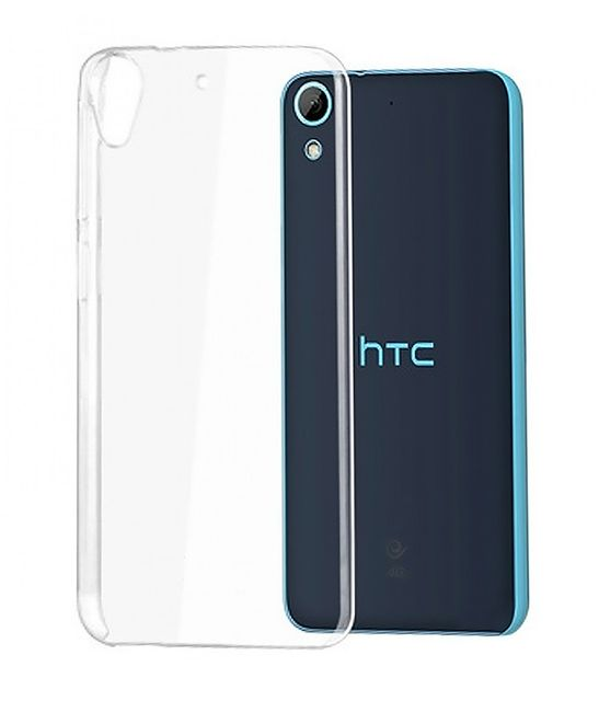 Htc Desire 626G Plua Dual SIM Transparent Soft SiliCon Back Cover